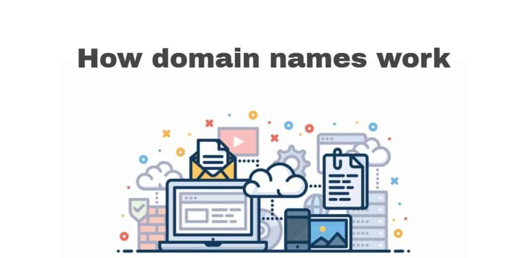 How domain names work