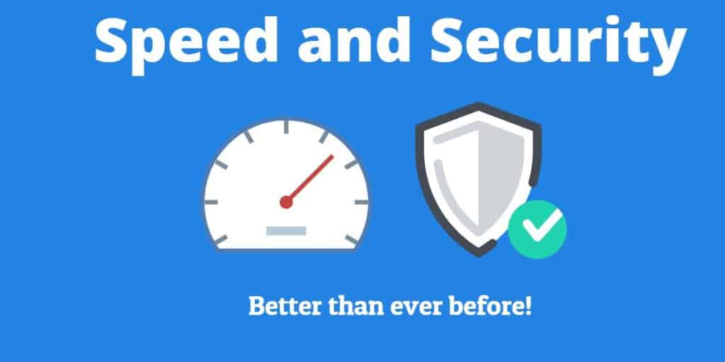 Performance and Security Improvements